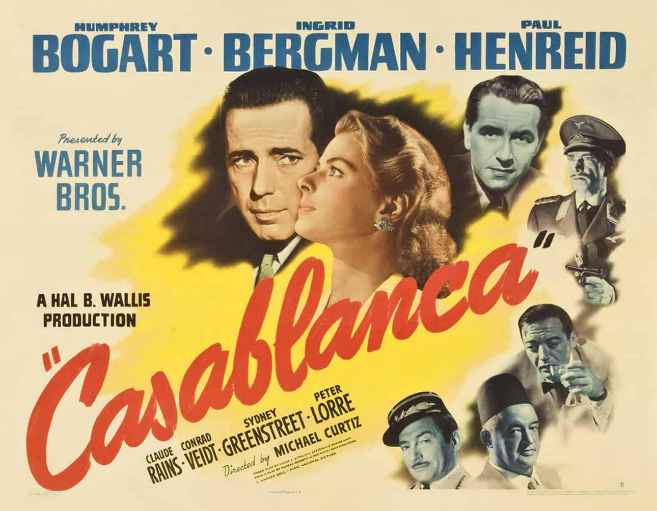 Casablanca Movie Poster | Starbucks Menu | Restaurants in Fort Myers