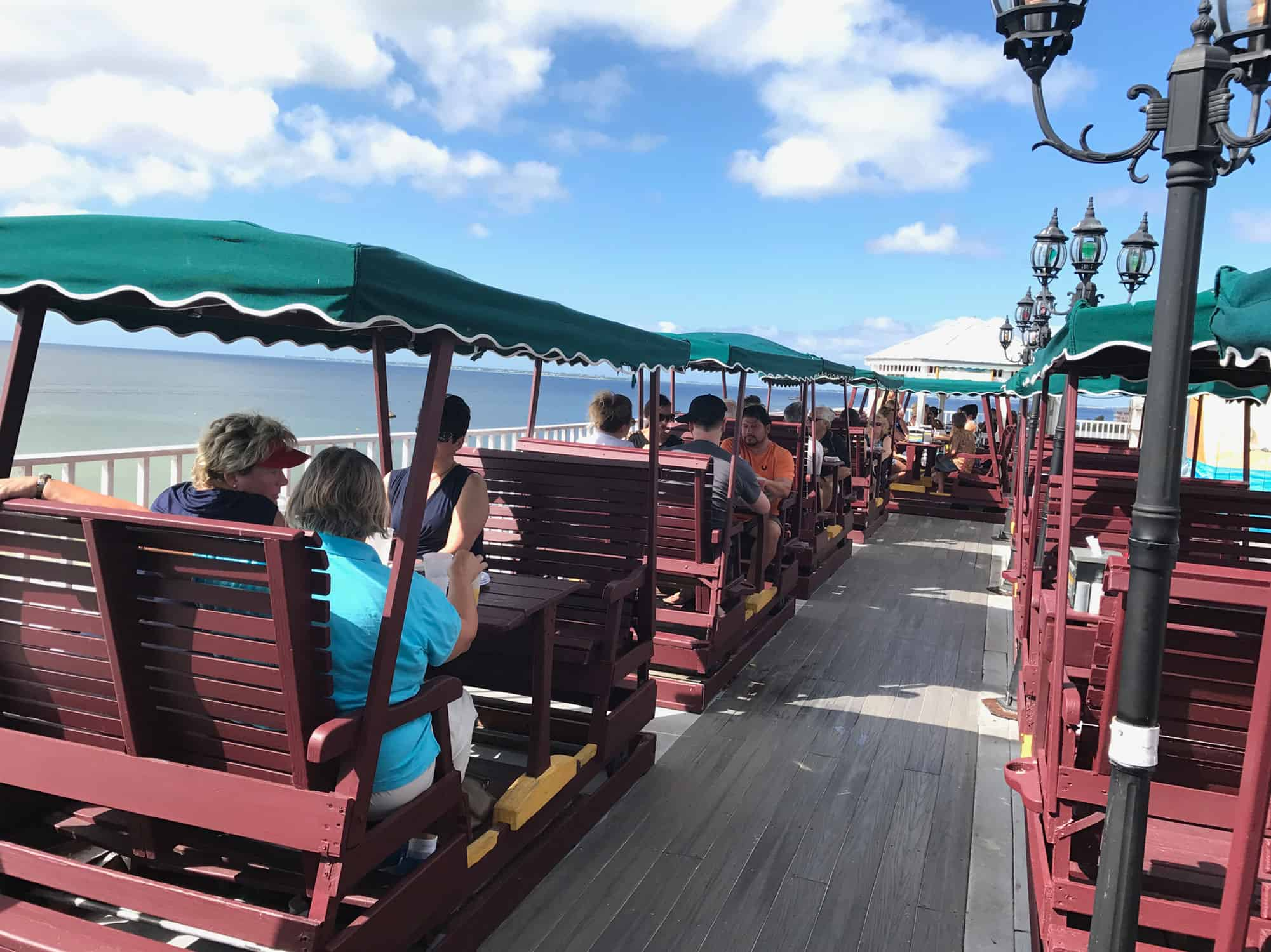 Sun Deck Restaurant | Outdoor Seating | Restaurants in Fort Myers